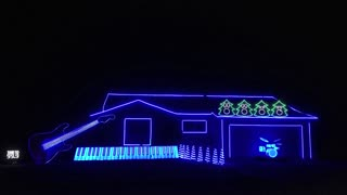 Hilarious and Amazing Home Christmas Lighting Display, Best of 2013 - featured on ABC and CBS - Video