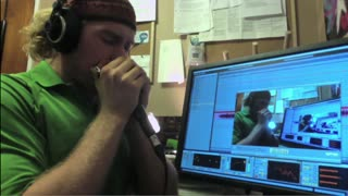 Beatboxing While Playing the Harmonica! - Video