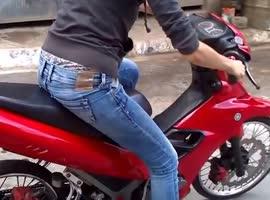 Girl Riding Bike Gone Wrong - Video