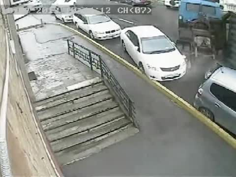CAR GETS OWNED BY TRUCK!