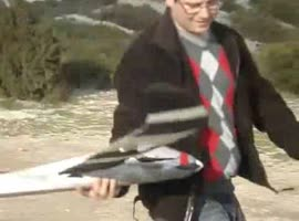 Man Forgets to Turn on RC Plane - Video