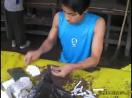 these Asians incessantly with their skills - Video