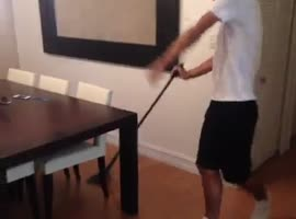 Cleaning the house.. - Video