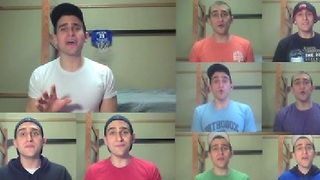 One Man A Capella Cover of Pharrell's 'Happy' - Video