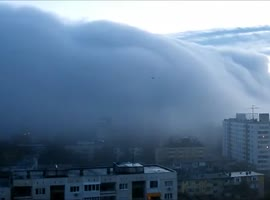 City sank within minutes in fog - Video