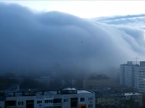 City sank within minutes in fog