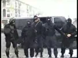 Riot police arrested members of the Russian Mafia - Video