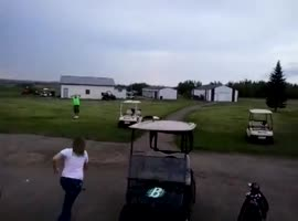 Golfer Sorry for Knockout!!