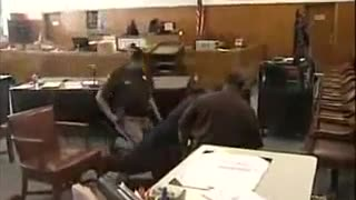 Gangster Cries During Sentencing - Video