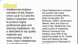 Daryn Weatherman - Video