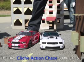 The Cliche RC Car Chase - Video