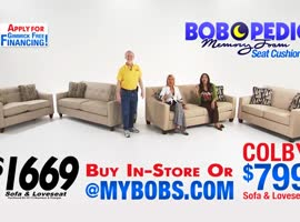 Bobs Furniture 9 - Video