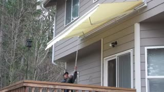 Aleko Patio Awning For Home - Video