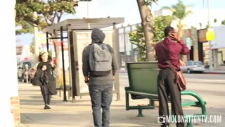 Pickpocketing in Public Prank! - Video