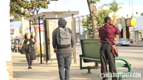 Pickpocketing in Public Prank!
