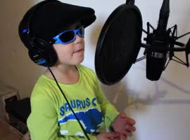2-Year-Old Future Rap Star?