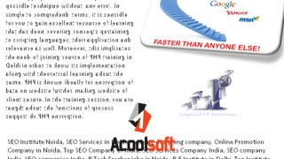 BCA Summer Training in Noida, PHP++ Training in Noida, SEO,SMO,PPC, Training in Noida - Video
