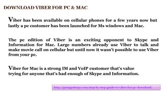 Viber for MAC - Video