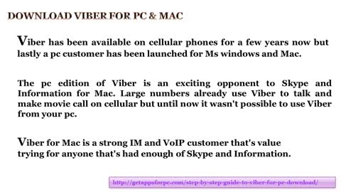 Viber for MAC