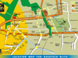 Assotech Blith Gurgaon residential project in Sector 99 @ 9818993214