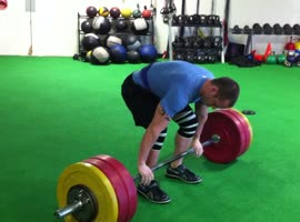 305 Clean N Jerk Darian Barnett - Video