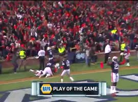 Auburn Upsets Alabama With Crazy Finish - Video