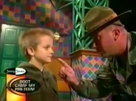 Kid's Response Melts Drill Sergeant's Heart - Video