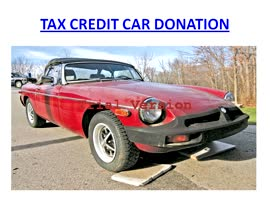 Tax Credit Car Donation - Video