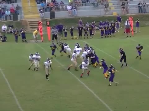 Amazing PeeWee Football Play