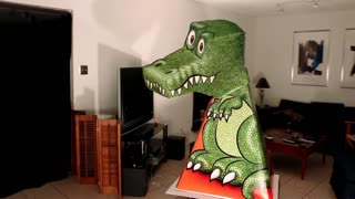 Amazing T-Rex illusion - Video