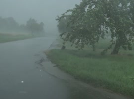 Extreme Hailstorm in Germany - July 2013 - Video