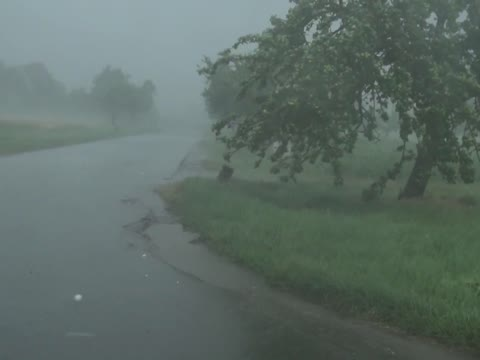 Extreme Hailstorm in Germany - July 2013