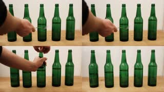 'Gangnam Style' Cover Using Beer Bottles - Video