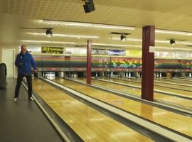 Bowling Strikes With a Ping Pong Ball - Video