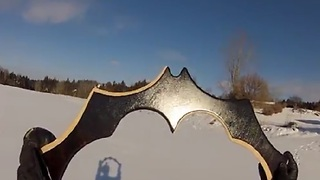 Video Game Weapons Brought To Real Life Via Boomerangs - Video