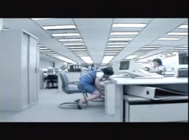 Bad office fall - Video