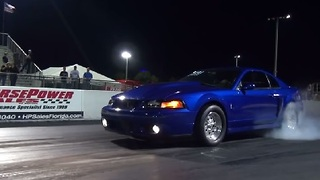 Crazy Mustang Cobra Launch - Video