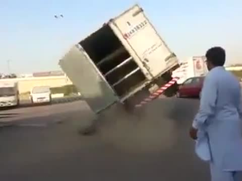 How to Flip Over a Truck!