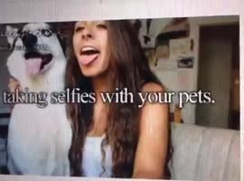 Poor dog :D ..or girl? - Video