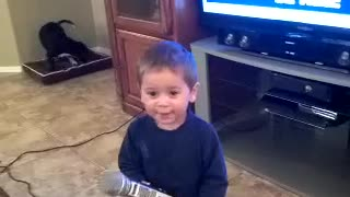 This Baby Was Born to Sing! - Video