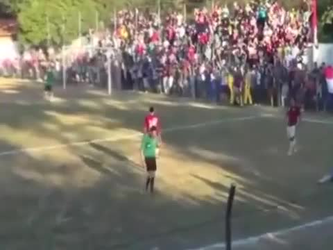 You missed Sports: Player judge hit 'high-kick' in the head!