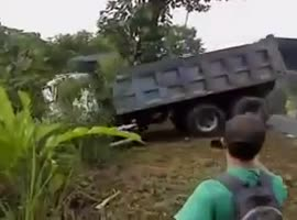 Truck Rescue Doesn't Go As Planned! - Video