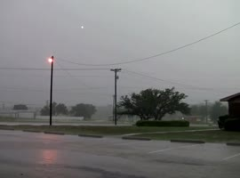 Rare Ball Lightning Caught On Camera - Video