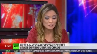RT Anchor Quits on Air - Video