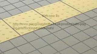 Playground Mat http://www.playgroundmats.co.uk/product/safe-playing-interlocking-rubber-mats/ - Video