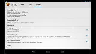 SuperSU v1.93 + SuperSU Pro Key v1.00 Android Free download - Video