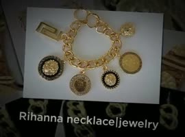 Rihanna Necklace - Jewelry - Video
