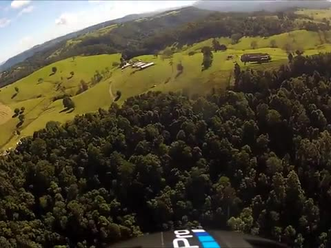 Scary Hang Glider Mid-Air Collision