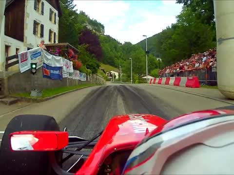 Fascinating Onboard Footage of a Hillclimb GP2 Race!
