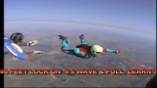 AFF Levels 1-8 Learn to Skydive - Video